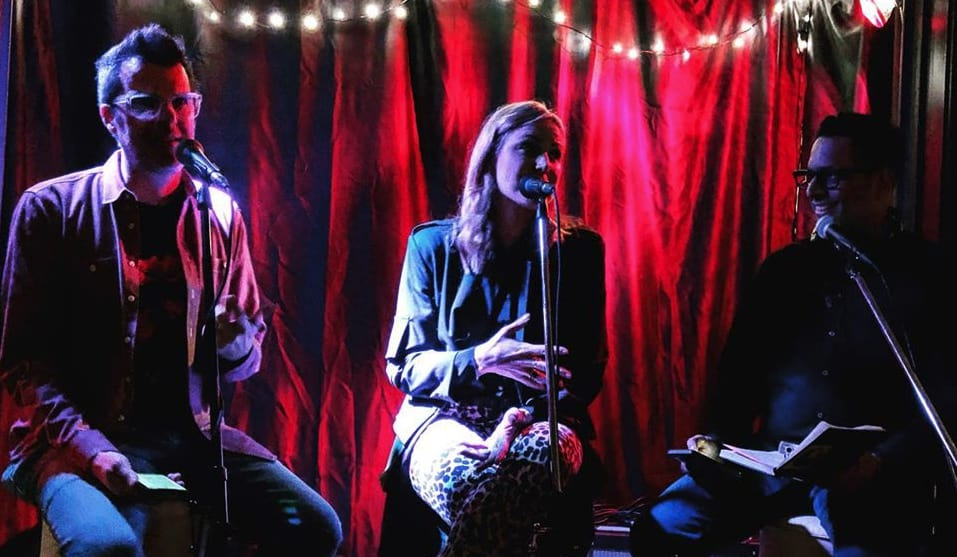 Josie Dye join Gregg Tilston and Karim Kanji for Welcome To The Music